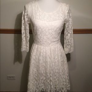 Free People Lace Dress Size 6
